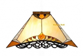 5595 Kap Tiffany 44x44cm  Amber