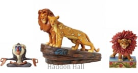 Lion King Set van 3 Beelden Jim Shore Disney Traditions 6000962 4032861 4040432