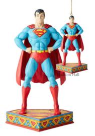 Superman Zilver Age figurine & hanging ornament H22cm Jim Shore