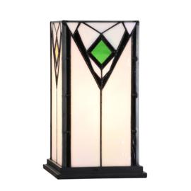 "Tafellamp Tiffany ""4 Seasons"" WIndlicht model"