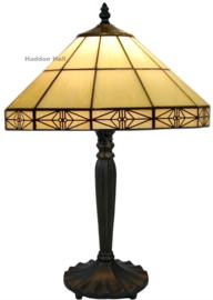 3087 Tafellamp Tiffany H46cm Ø32cm Serenity