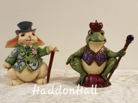 Mini Figurines - Set van 2 - Rabbit  & Frog  Jim Shore