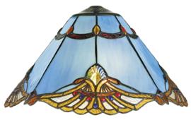 161072 Kap Tiffany Ø40cm Modry