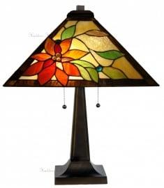 """TG103-5127 Tafellamp Tiffany H60cm 40x40cm """"Lelani"""""""