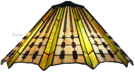 7858 Kap Tiffany Ø50cm Plisse