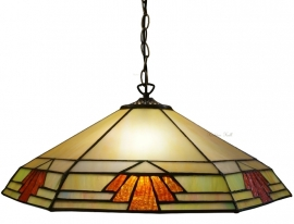 "TM16FL 97 Hanglamp Tiffany Ø43cm ""Nevada"""