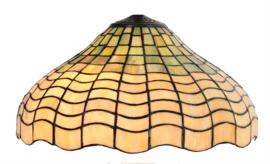 5974 Kap Tiffany Ø40cm Shell