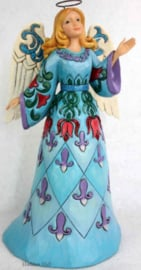 Wonderland Angel  H24cm Jim Shore 6001422 Heartwood Creek Engel