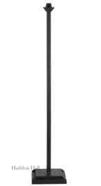 8155 Voet voor vloerlamp H140cm Vierkant  Zwart
