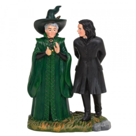 Harry Potter - Professor Snape and Professor Minerva McGonagal - Figurine H9cm 6003331