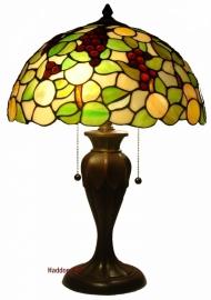 1137 Tafellamp Tiffany H58cm Ø40cm Redberrie