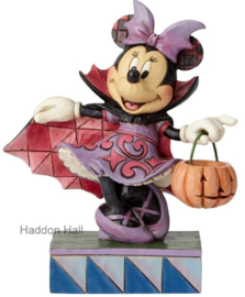 MINNIE Violet Vampire  H 16,5cm Jim Shore 6000949 Disney Traditions
