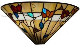 """TG62W Wandlamp Tiffany Schelpmodel B36cm """"Bernwood"""""""