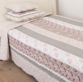 Q119 Clayre & Eef Bedsprei 140 x 220 cm Quilt patchwork