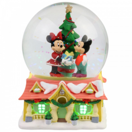 Mickey & Minnie Waterbal H15cm Department56 6007135