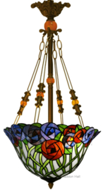 KT162512 5767 Hanglamp Tiffany Ø41cm Diana