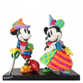 Mickey & Minnie  H25cm Disney by Britto limited edition  3000 worldwide
