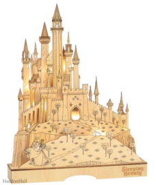 Sleeping Beauty Illuminated Castle H39cm Flourish Disney 6004499 juni 2021