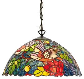 KT2666 97 Hanglamp Tiffany Ø40cm Birds of the Paradise