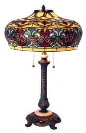 5290 Tafellamp Tiffany  H75cm Ø47cm Arlington