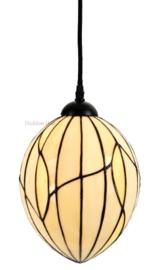 8109 Hanglamp Tiffany Ø20cm Nature