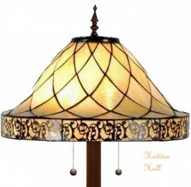 5281 9454 Vloerlamp Tiffany Ø45cm Filigrees Ronde voet