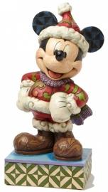 "MICKEY  ""Merry Christmas"" H56cm! Jim Shore"