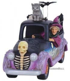 Halloween Pick Up Truck B27cm Jim Shore 6010674