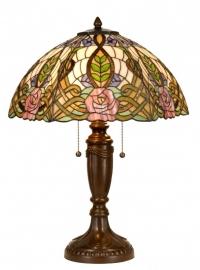 5370 Tafellamp Tiffany H61cm Ø47cm Gloriosa