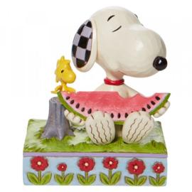 Snoopy & Woodstock  H11cm Jim Shore 6010113