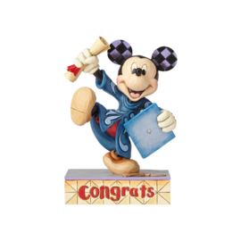 MICKEY Congrats  H15cm Jim Shore 4059749 Disney Traditions
