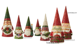 Gnomes Christmas - Set van 6 - H21cm - Jim Shore