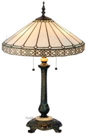 5210 Tafellamp Tiffany H75cm Ø51cm Boleyn