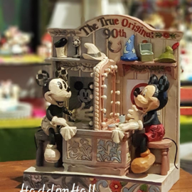 Mickey  90th  GESIGNEERD H21cm Jim Shore 6001267 Disney Traditions