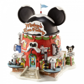 Mickey's Ears Factory H17cm Disney Village by D56 - A30077