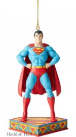 Superman Zilver Age hanging ornament H11cm Jim Shore 6005071