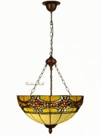 5710 8842 Hanglamp Tiffany Ø51cm met Stenen Riaad