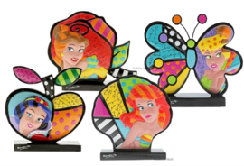 Set van 4 Romero Britto Icon figurines