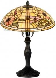 5350 9034 Tafellamp Tiffany H37cm Ø30cm Garden Dragonfly