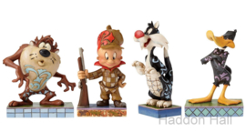 Set van 4 Looney Tunes beeldjes Jim Shore