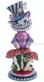 Cheshire Cat Nutcracker H42cm - Christmas Inspirations