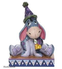 Eeyore with Birthday Hat-Horn H14cm Jim Shore   6008074