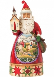 """Grace At Christmas Time"" H23cm Jim Shore Santa 4041068 uit 2014"