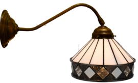 5197 Wandlamp met Tiffany kap Ø19cm Fargo