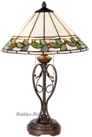 5860 Tafellamp Tiffany H62cm Ø40cm Herba