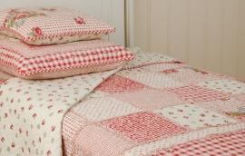 Q061 Clayre & Eef Bedsprei 300 x 260 cm Quilt Patchwork