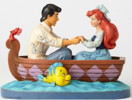 "ARIEL & PRINCE ERIC  ""Waiting for a Kiss"" H 15cm Jim Shore 4055414"
