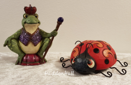 Mini Figurines - Set van 2 - Frog & Ladybug Jim Shore
