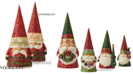 Gnomes Christmas - Set van 5 H20,5cm - Jim Shore