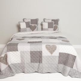 Q152 Clayre & Eef Bedsprei 300 x 260 cm Quilt Patchwork beddesprei